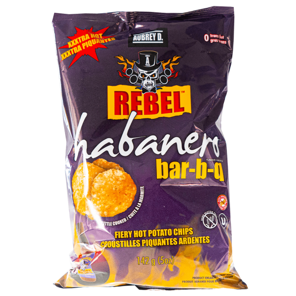 Rebel Habanero bar-b-q 142g