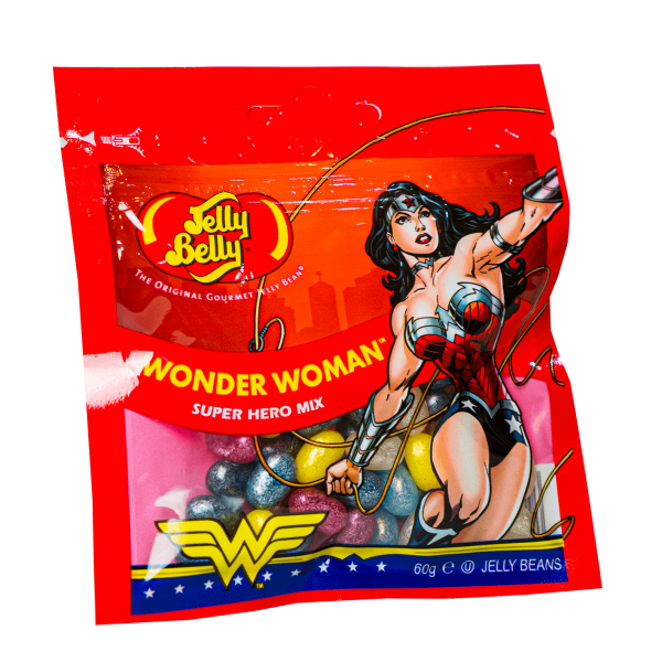 Jelly Belly Wonder Woman Super Hero Mix 60g