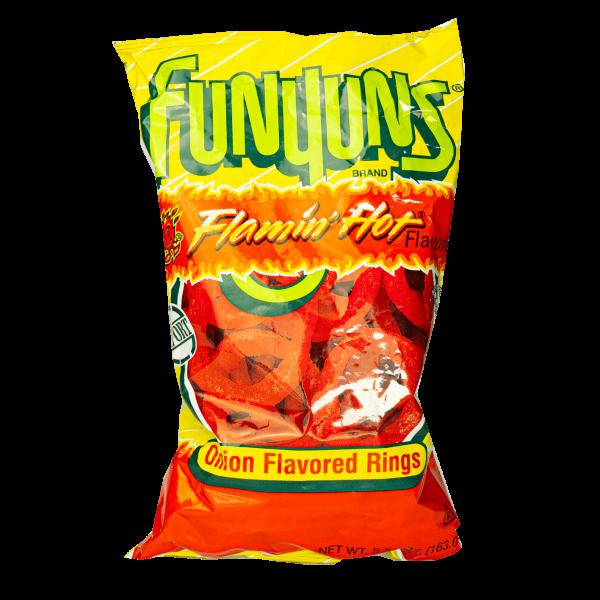 Funyuns Flamin´Hot Onion Flavored Rings 163g