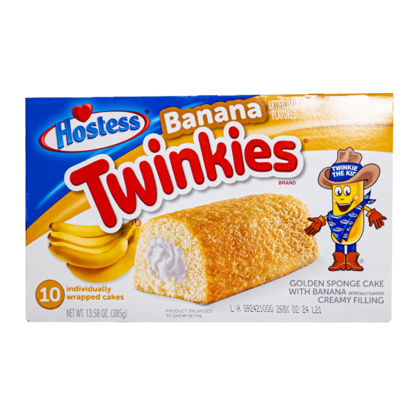 Hostess Twinkies Banana 10er Pack 385g