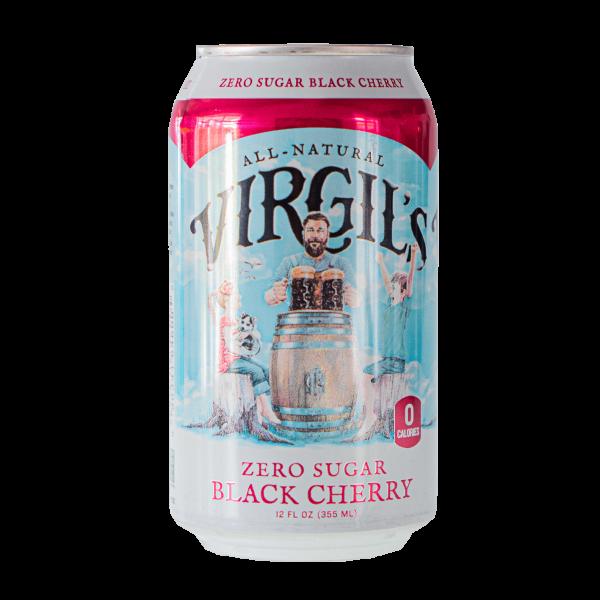 All Natural Virgil´s Zero Sugar Black Cherry 355ml