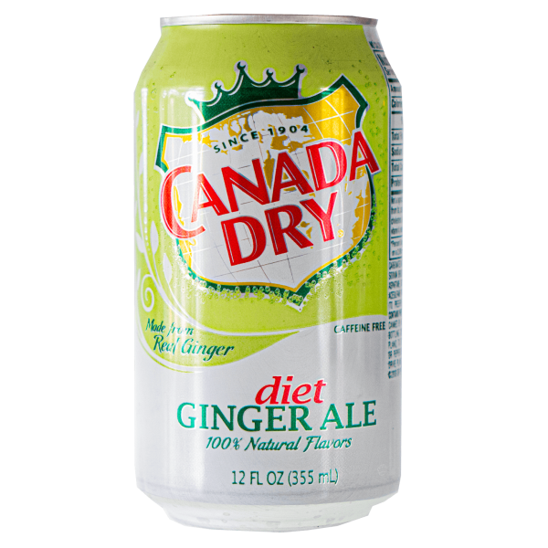 Canada Dry Ginger Ale diet 355 ml