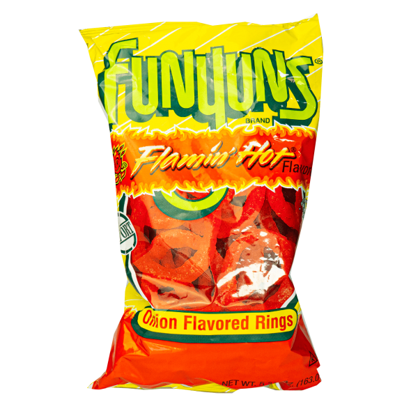 Funyuns Flamin´Hot Onion Flavored Rings 163g