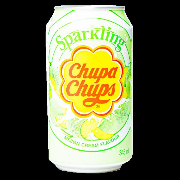 Chupa Chups Sparkling Melon Creamy 345 ml