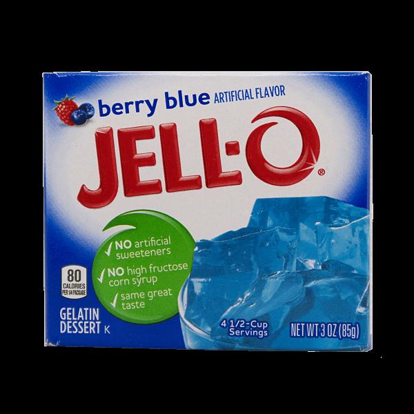 Jell-O Berry Blue 85g