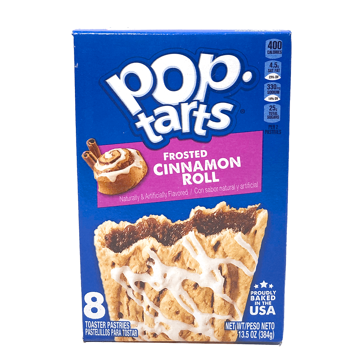 Pop Tarts Frosted Cinnamon Rolls 8er Pack 384g