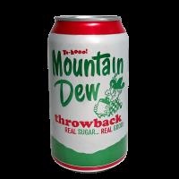 Mountain Dew Throwback 355ml