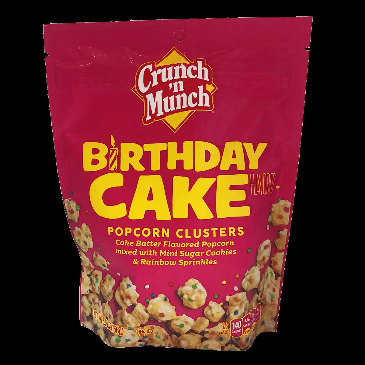 Crunch´n Munch Birthday Cake Popcorn Clusters 156 g