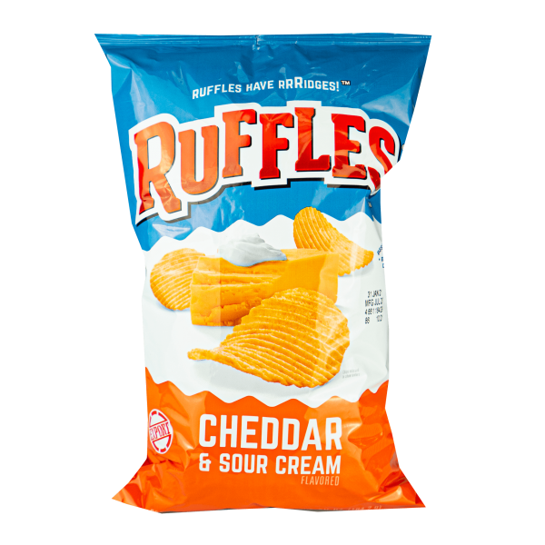 Ruffles Cheddar & Sour Cream Potato Chips 184g