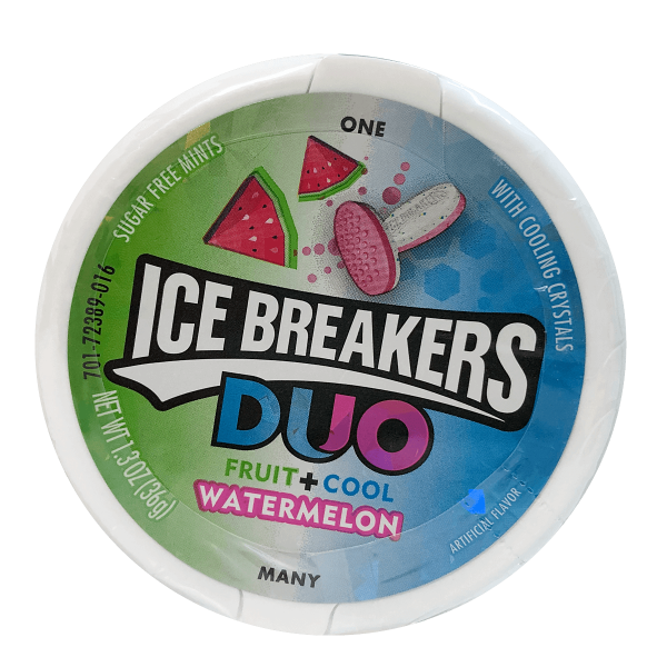 Ice Breakers Duo Fruit + Cool Watermelon 42g