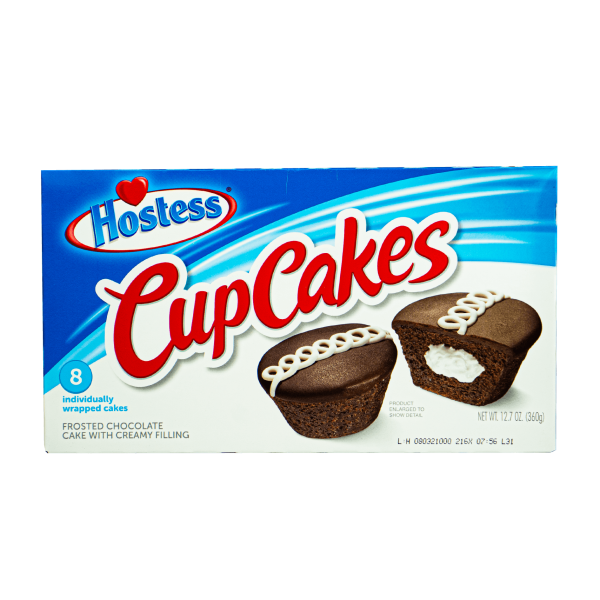 Hostess Cup Cakes Frosted Chocolate 360g