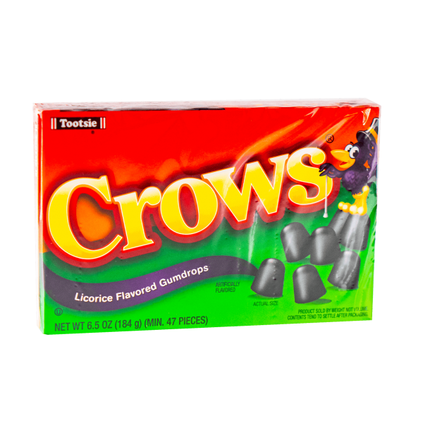 Crows Licorice Gumdrops 184 g