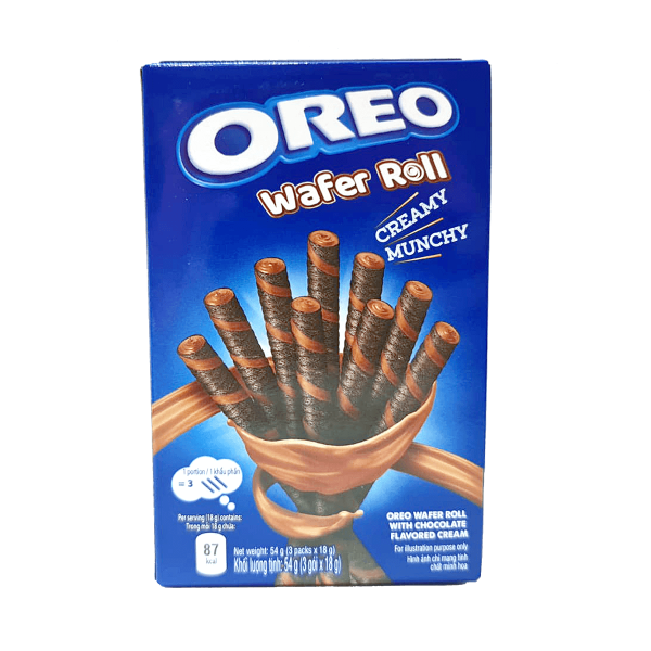 Oreo Wafer Roll Chocolate 54 g