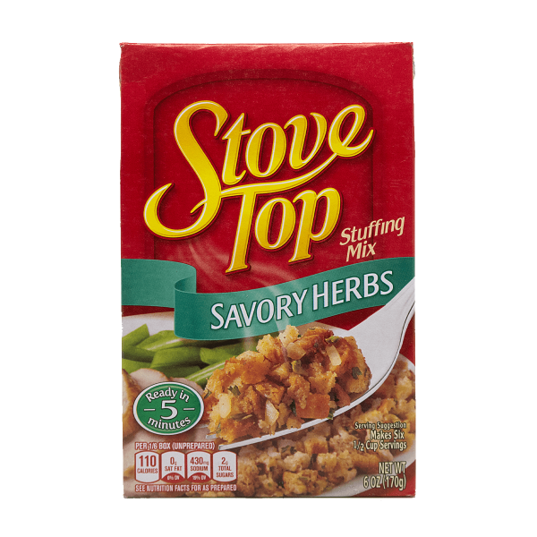 Stove Top Stuffing Mix Savory Herbs 170g