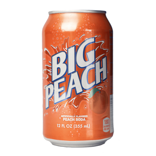 Big Peach Soda 355 ml