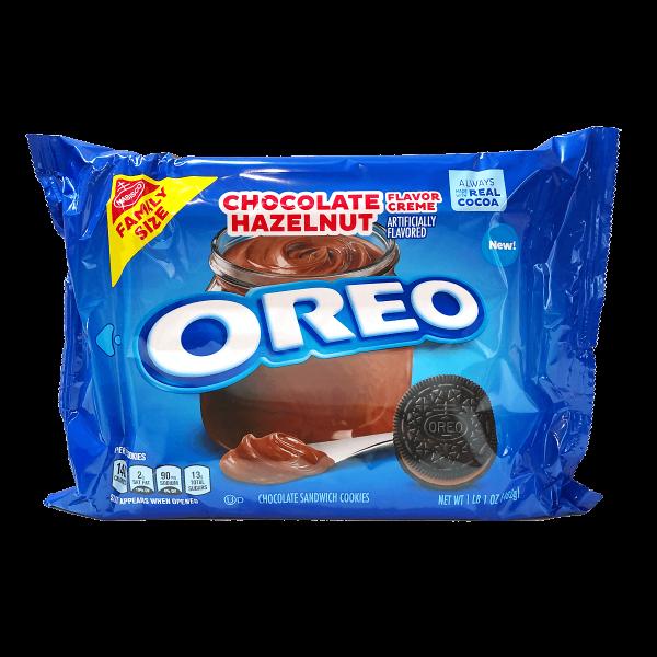 Oreo Chocolate Hazelnut Cookie 482g