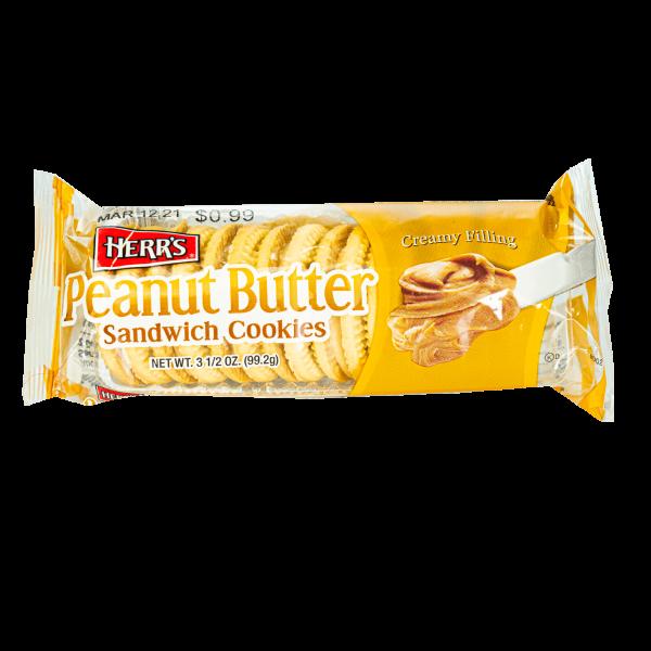 Herr´s Peanut Butter Sandwich Cookies 99,2g