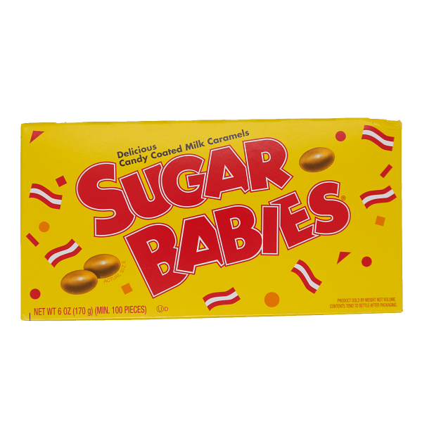 Sugar Babies Delicious Candy Coated Milk Caramels 170g
