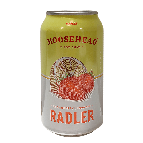 Moosehead Radler Strawberry Lemonade 355ml