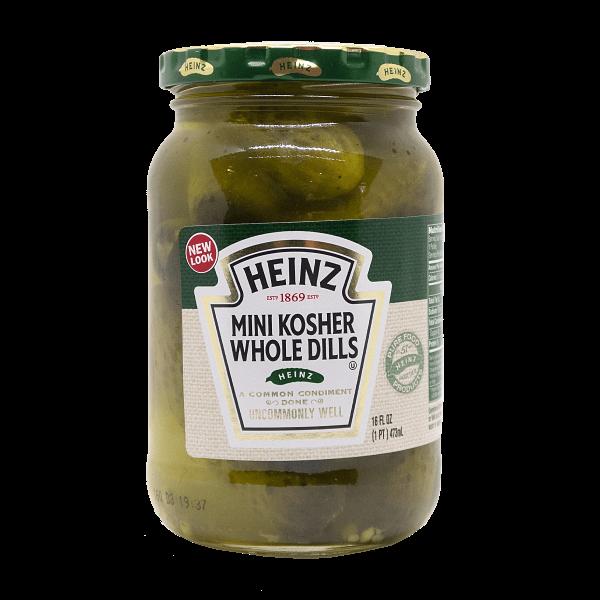 Heinz Mini Kosher Whole Dills 473ml