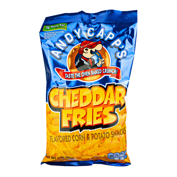 Andy Capp´s Cheddar Fries 85g