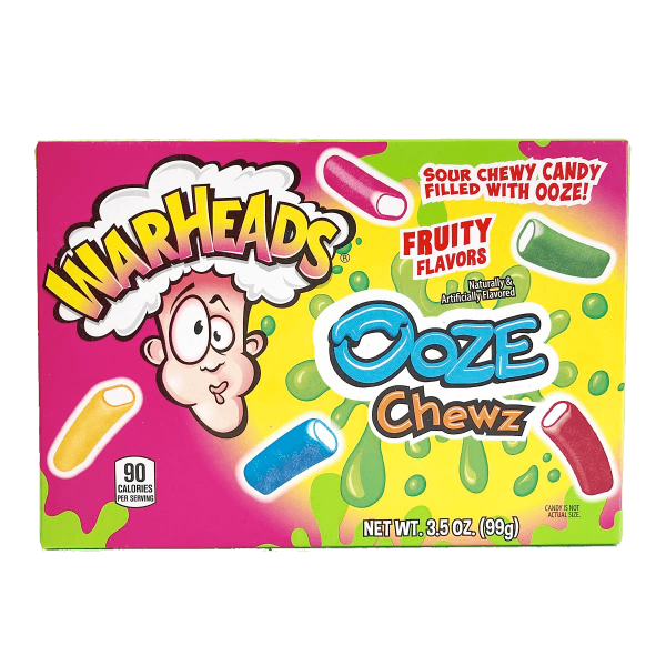 Warheads Ooze Chewz 99g