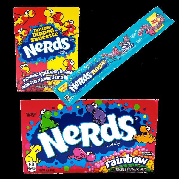 Nerds Crazy 3er Pack