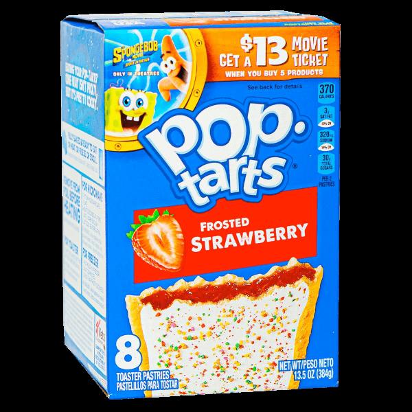 Pop Tarts Frosted Strawberry 8er Pack 384g