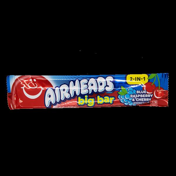 Airheads Blue Raspberry + Cherry Riegel 42,5 g