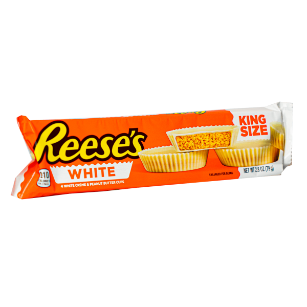 Reese´s White 4 Creme & Peanut Butter Cups 79 g