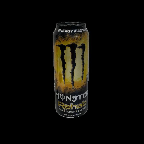 Monster Rehab Lemon Icetea 500ml