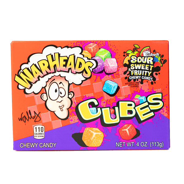Warheads Cubes Sour Sweet & Fruity 113g