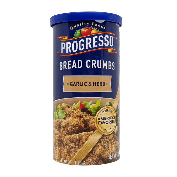 Progresso Cread Crumbs Garlic & Herb 425 g
