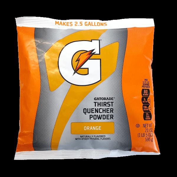 Gatorade Thirst Quencher Powder Orange 595g