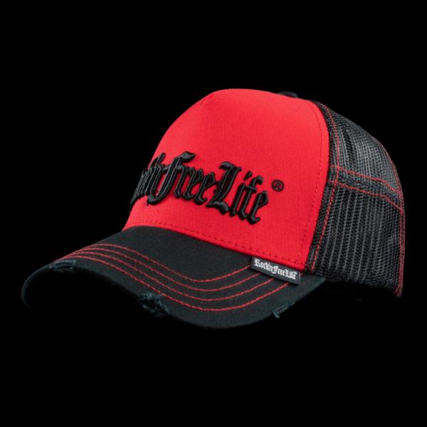 Rock'n Free Life Paint Red Cap