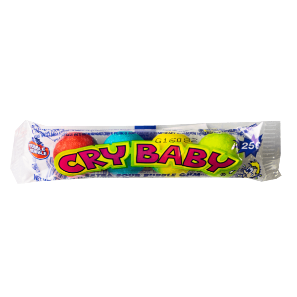 Cry Baby Extra Sour Bubble Gum 18g