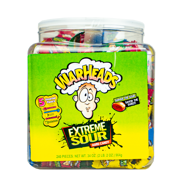 Warheads Extreme Sour Hard Candy 4g