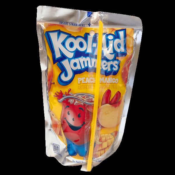Kool Aid Jammers Peach Mango 177ml