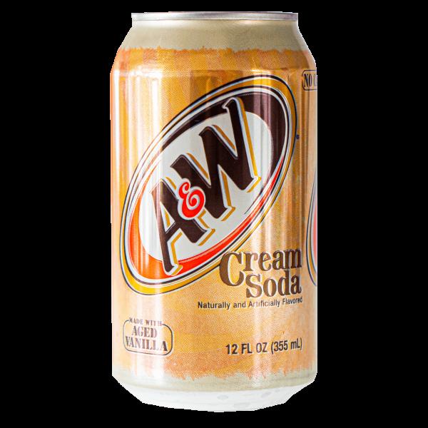 A&W Cream Soda Dose 355ml