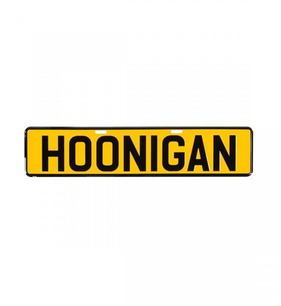 Hoonigan EU License Plate Sticker