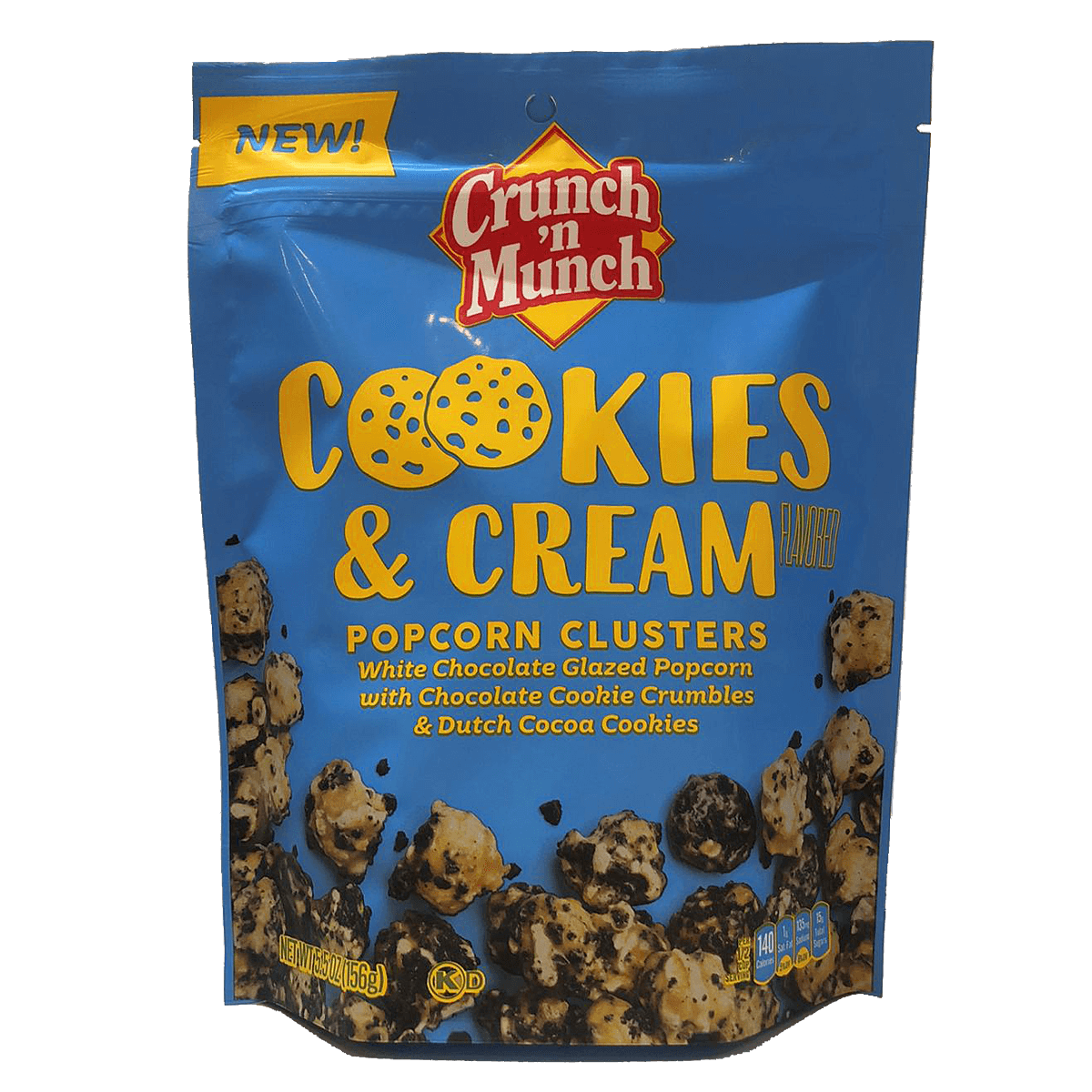 Crunch´n Munch Cookies & Cream Popcorn Clusters 156 g