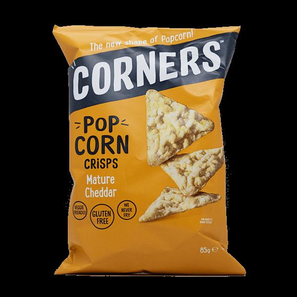 Corners Cheddar Popcorn Crisps Maischips 85 g