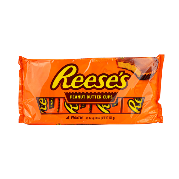 Reese´s Peanut Butter Cups 4er Pack 170g