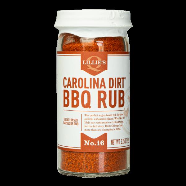 Lillie´s Carolina Dirt BBQ Rub 92g