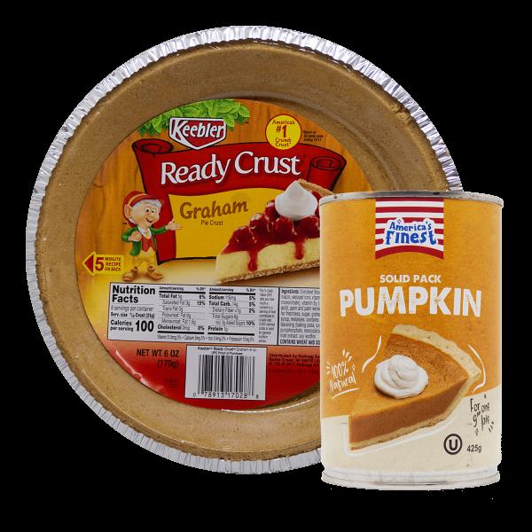 Pumpkin Cake Set