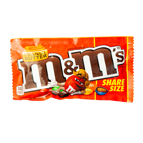 M&Ms Peanut Butter Share Size 80,2g