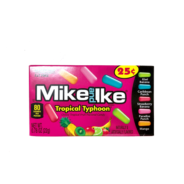 Mike & Ike Tropical Typhoon 22g