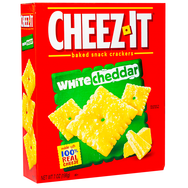 Cheez-it white cheddar baked snack crackers 198 g