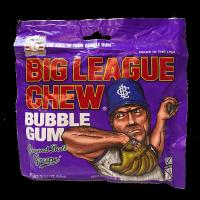 Big League Chew Bubble Gum Ground Ball Grape 60g