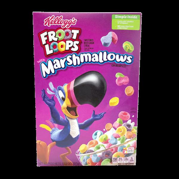 Kellogg´s Froot Loops Marshmallow 297g
